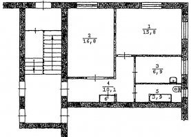 От хозяина - фото. Купить двухкомнатную квартиру от хозяина без посредников, Артёмовский, улица Физкультурников, 19 - фото.